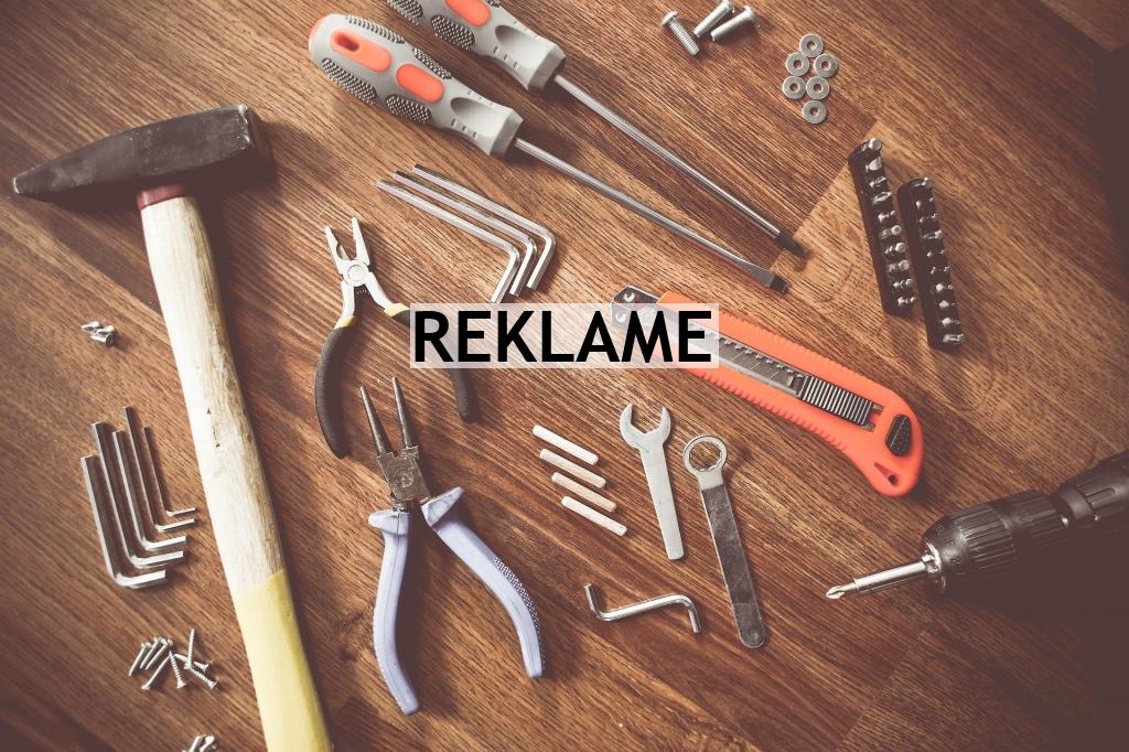 De rette verktøyene for jobben
